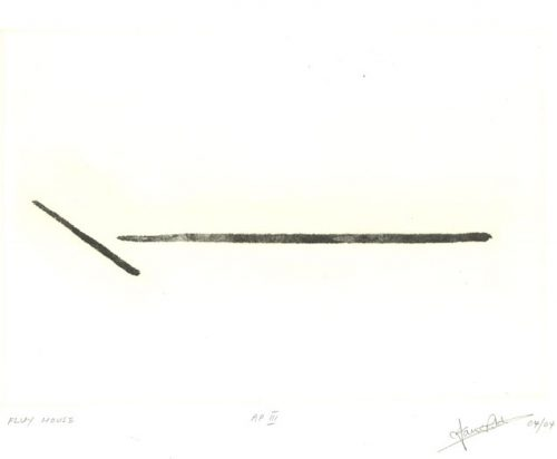 Fluy: Etching by Ian Ritchie
