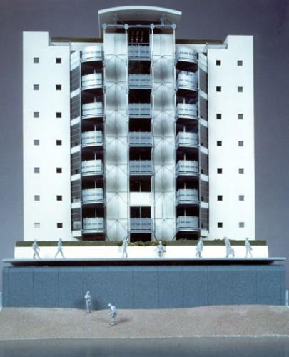 Hermitage Riverside: Model (part)- North elevation