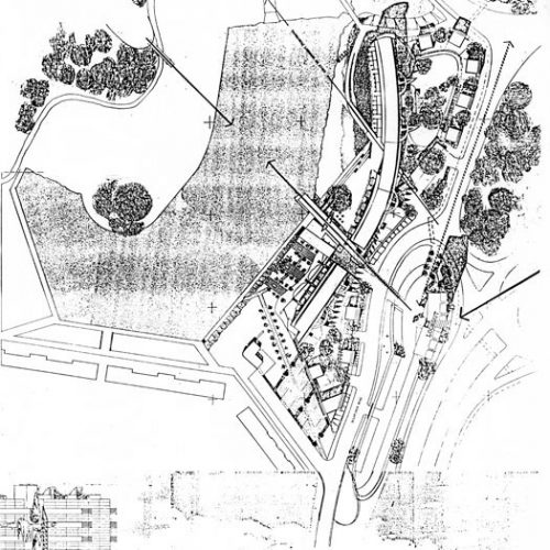 Thamesmead: Site plan