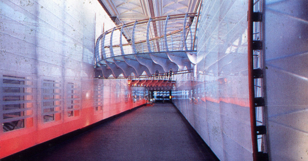 Ecology Gallery, Natural History Museum: The glass chasm