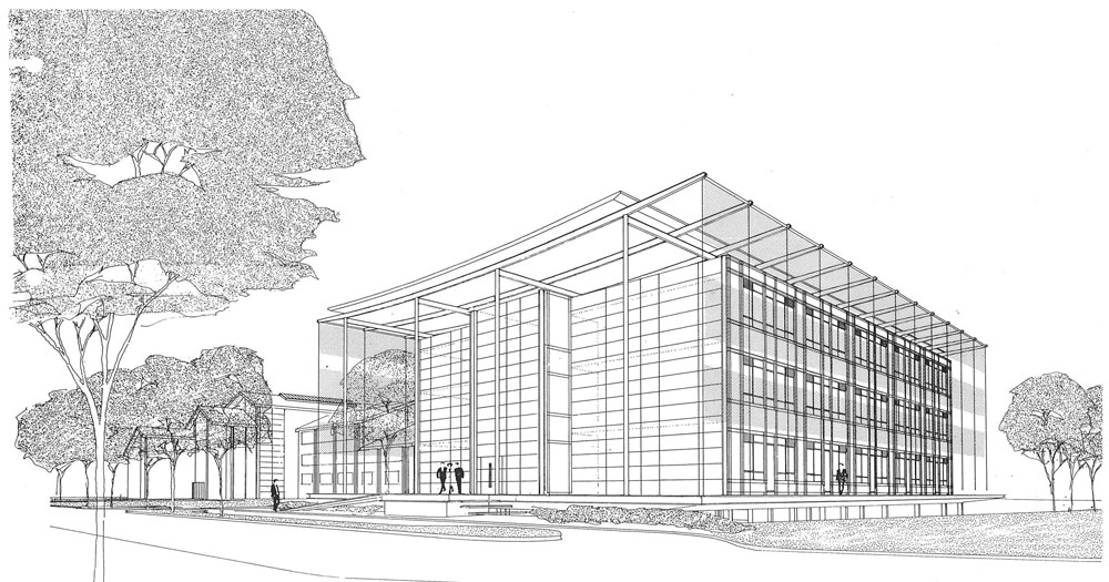 Oxford Science Park: Isometric