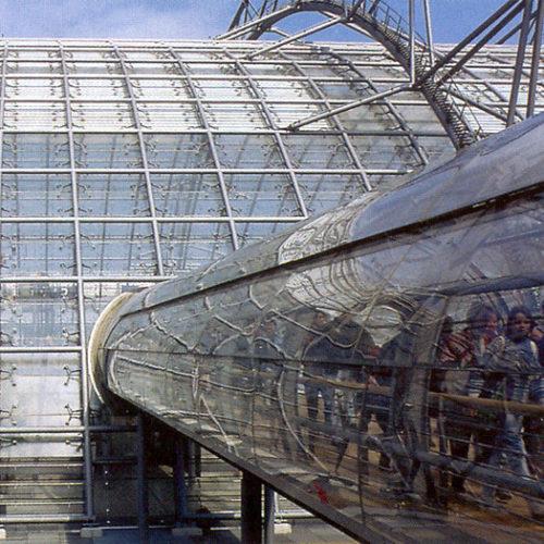 Leipzig Neue Messe Glass Bridges: External view 01