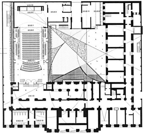 Leipzig Concert Hall: Plan