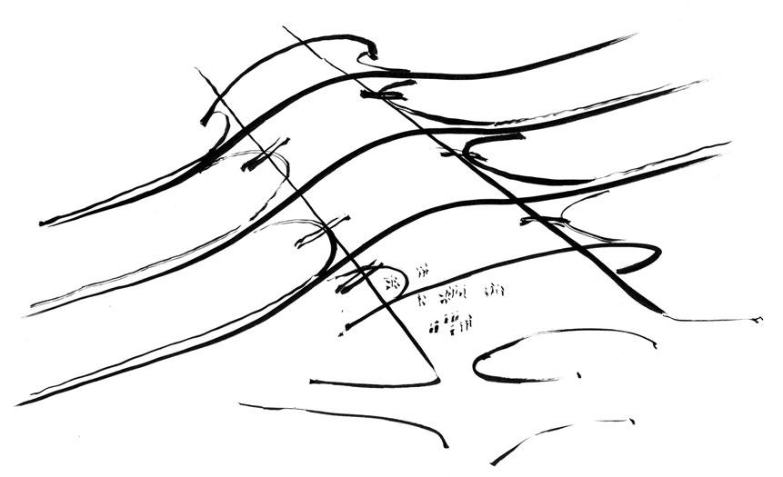 Hanover 2000 Station: Concept sketch 2