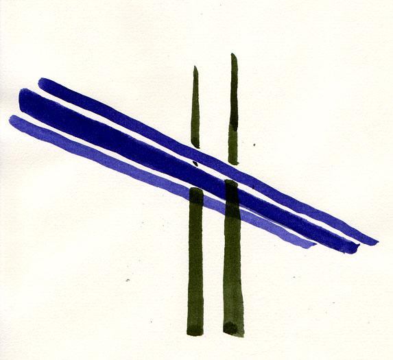 Tamar Bridge Widening: Concept sketch 1