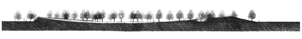 Shepherd's Bush Green: East-West section