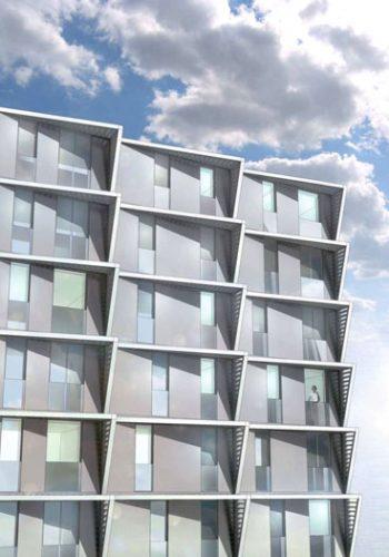 Maltepe Evleri: West facade study perspective