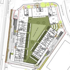 Dylon Development: Site plan