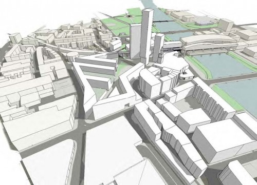 Glasgow Connexity Contextual Study - Rendered perspective