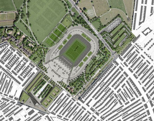 New Anfield: Site plan (level 00)