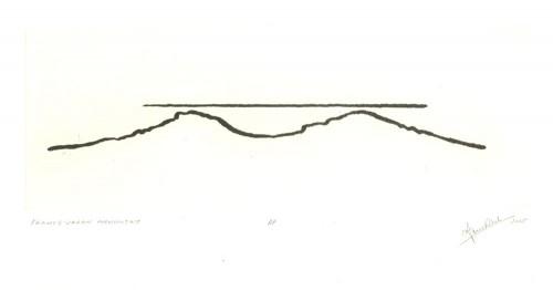 Symbol France-Japan - etching