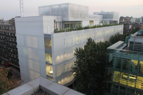 Sainsbury Wellcome Centre at UCL dusk