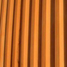 RSC Courtyard Theatre Corten wall