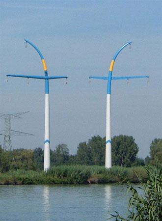 EdF High Voltage Pylons 1999, France