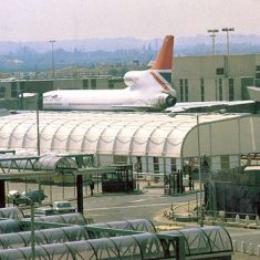 Shelterspan, Heathrow, 1978