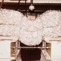 Gabion load testing, Turin, 1992
