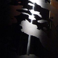 Spire of Dublin, detail at night