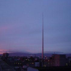 Spire of Dublin, winter dawn