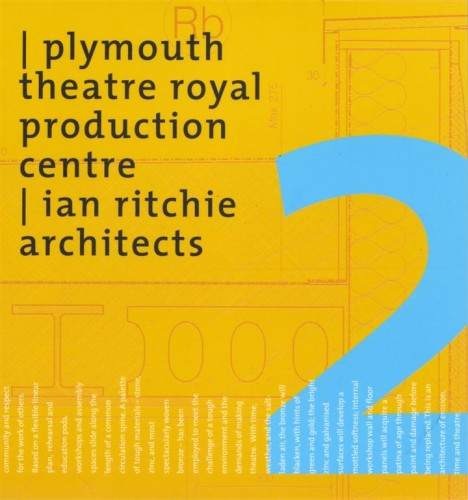 Plymouth Theatre Royal Production Centre - book cover