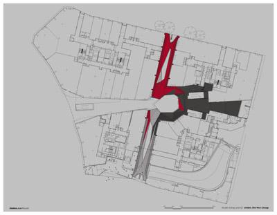 Jean Nouvel - One New Change. Ground Floor Plan