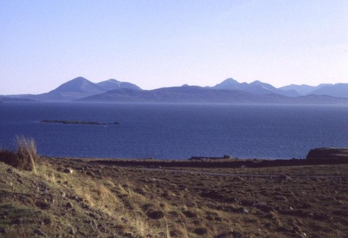 Raasay from Applecross, with Isle of Skye beyond illus008