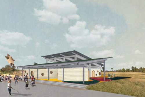 Design for 'El Jicarito' School